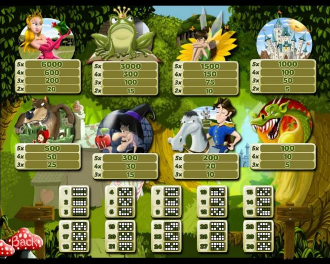 Elegant VIP featuring the Video Slots Fairy Tree Forest with a maximum payout of $18,000