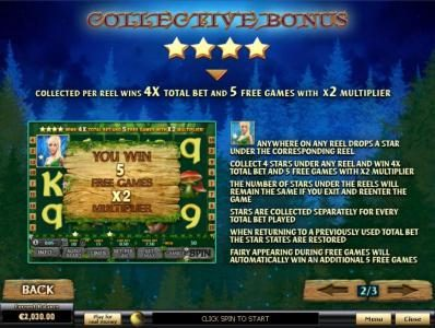Collective Bonus Feature Game Rules