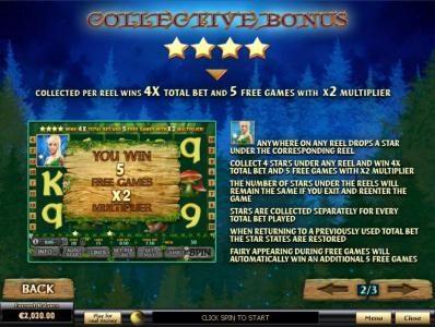 Fairy Magic :: Collective Bonus Feature Game Rules