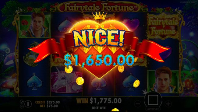 Play slots at VipSpel: VipSpel featuring the Video Slots Fairytale Fortune with a maximum payout of $37,500