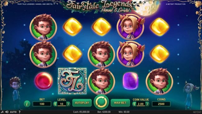 Play slots at Coral: Coral featuring the Video Slots Fairytale Legends Hansel & Gretel with a maximum payout of $8,000
