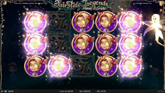 Play slots at Dream Vegas: Dream Vegas featuring the Video Slots Fairytale Legends Hansel & Gretel with a maximum payout of $8,000