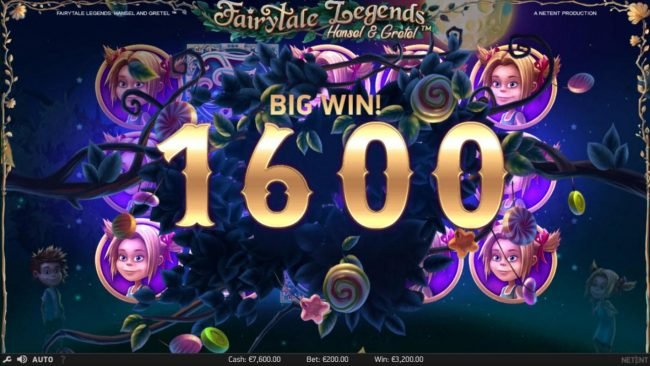 Spinzilla featuring the Video Slots Fairytale Legends Hansel & Gretel with a maximum payout of $8,000
