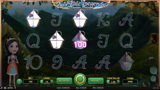 Wild Wild Bet featuring the Video Slots Fairytale Legends Mirror Mirror with a maximum payout of $182,200