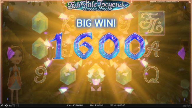 Play slots at Casiplay: Casiplay featuring the Video Slots Fairytale Legends Mirror Mirror with a maximum payout of $182,200