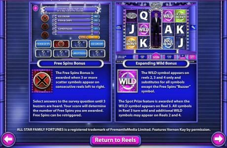 Free Spins and Expanding Wild Feature Rules