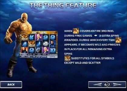 Fantastic Four 50 Lines :: the thing feature - rules and how to play