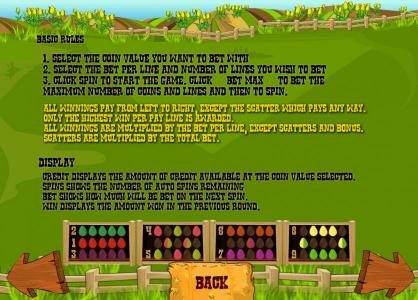 Farm Fair :: basic game rules