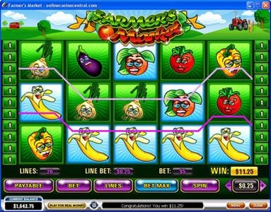 Europa featuring the video-Slots Farmer's Market with a maximum payout of $250,000