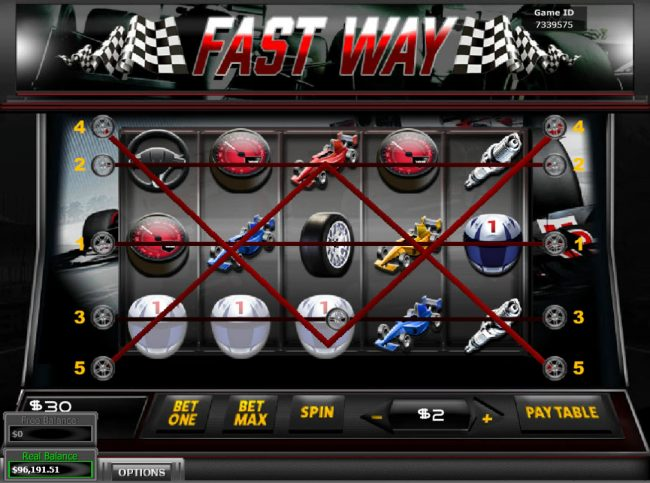 Celtic featuring the Video Slots Fast Way with a maximum payout of $2,000