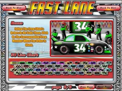 This Is Vegas featuring the Video Slots Fast Lane with a maximum payout of $22,220