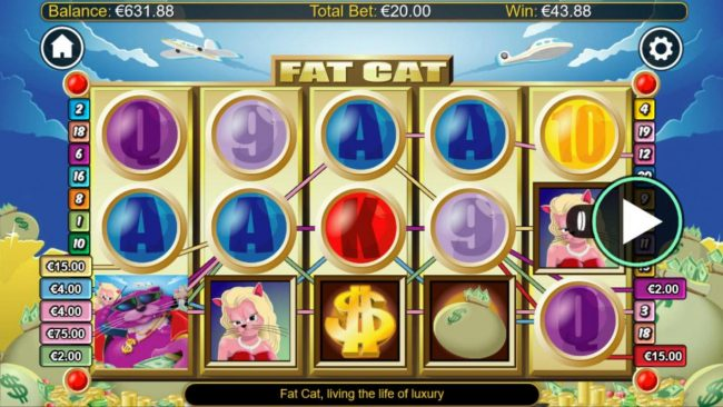 Genting featuring the Video Slots Fat Cats with a maximum payout of $1,200,000