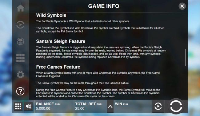 Fat Santa :: General Game Rules