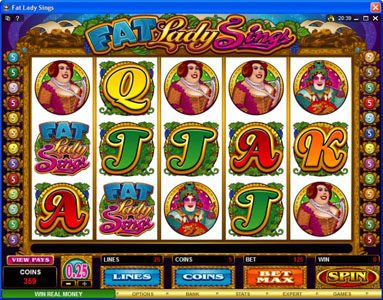 Play slots at Money Reels: Money Reels featuring the Video Slots Fat Lady Sings with a maximum payout of $7,500