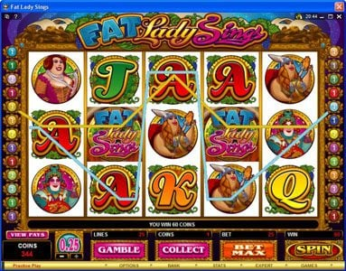 Stan James featuring the Video Slots Fat Lady Sings with a maximum payout of $7,500