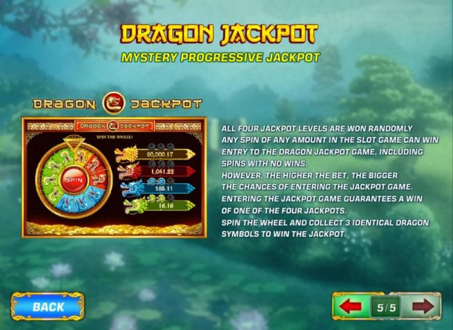 Euro Grand featuring the Video Slots Fei Cui Gong Zhu with a maximum payout of Jackpot