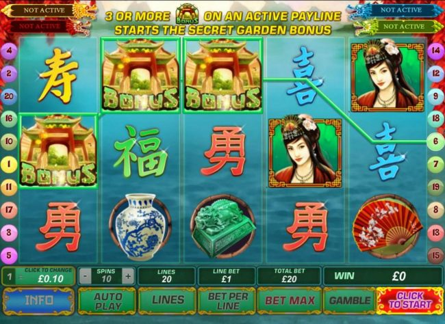 City Tower featuring the Video Slots Fei Cui Gong Zhu with a maximum payout of Jackpot