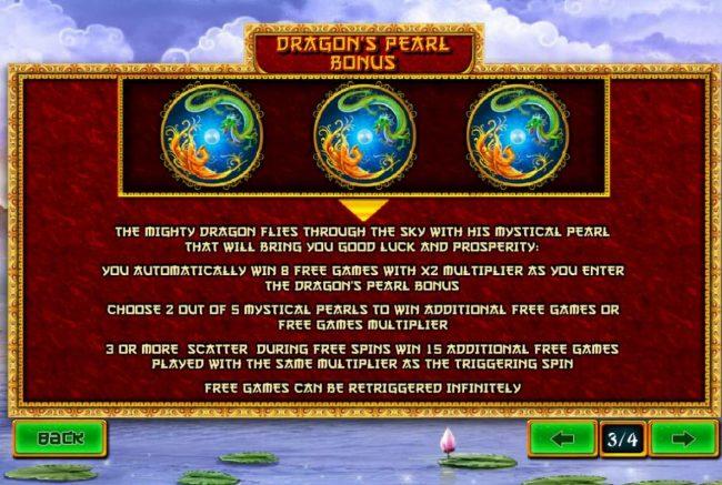 Fei Long Zai Tian :: Dragons Pearl Bonus Rules