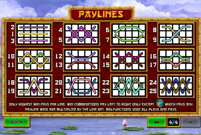 Omni featuring the Video Slots Fei Long Zai Tian with a maximum payout of $50,000