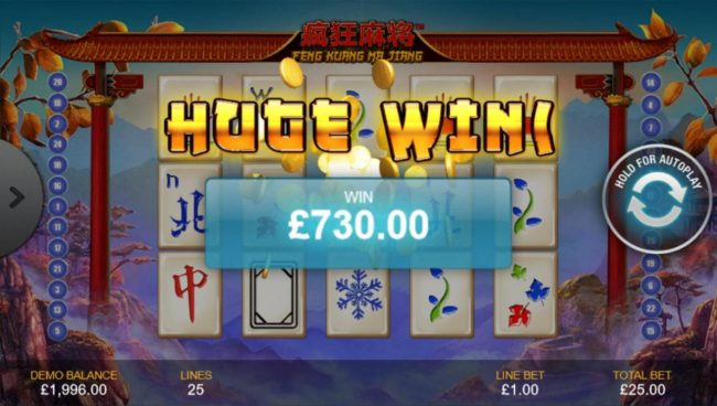 Play slots at William Hill Casino Club: William Hill Casino Club featuring the Video Slots Feng Kuang Ma Jiang with a maximum payout of $500,000