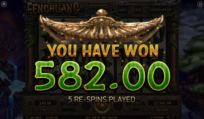 Fenghuang :: Total Free Spins Payout