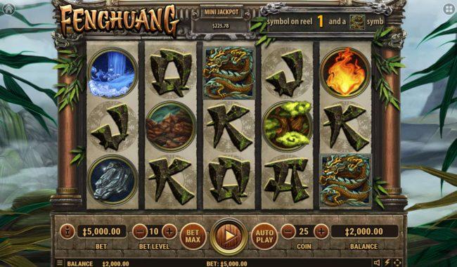 Fenghuang :: Main Game Board