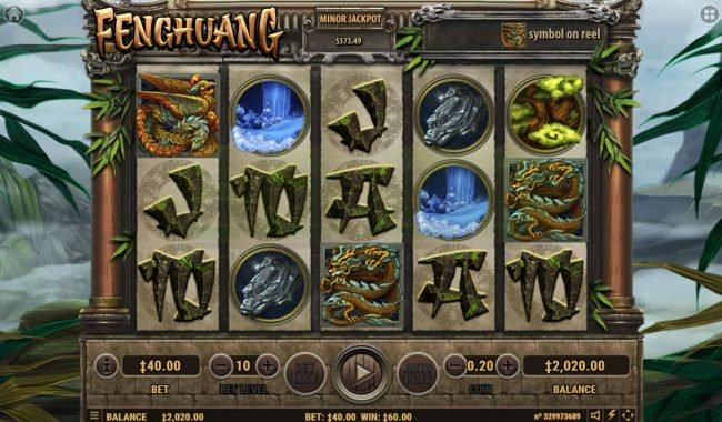 Fenghuang :: Scatter win triggers the free spins feature