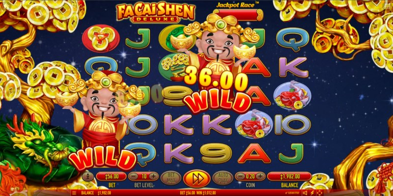 Fa Cai Shen Deluxe :: Multiple winning combinations