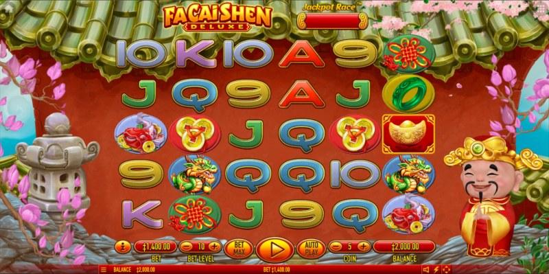 Fa Cai Shen Deluxe :: Main Game Board