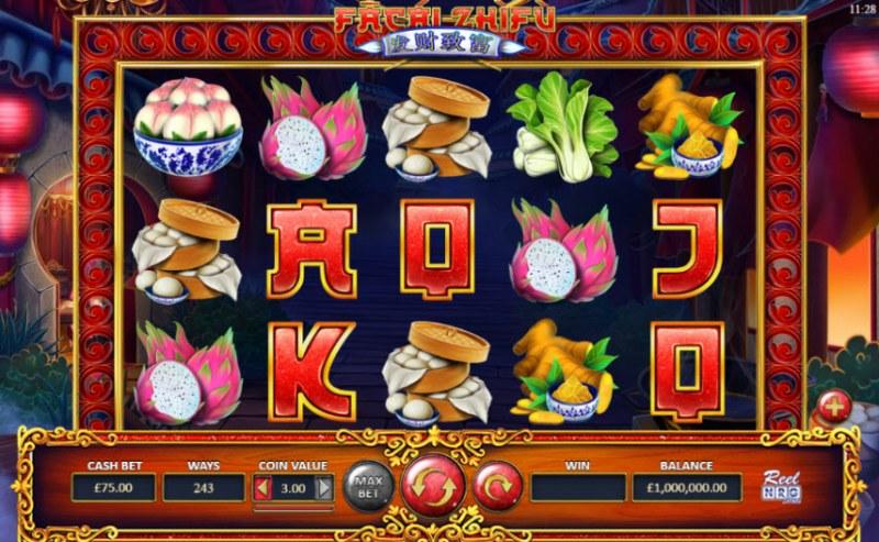 Fa Cai Zhi Fu :: Main Game Board