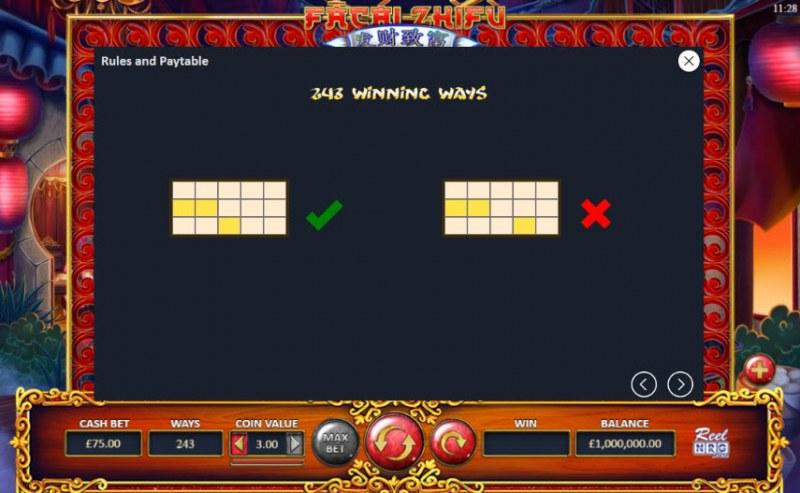 Fa Cai Zhi Fu :: 243 Ways to Win