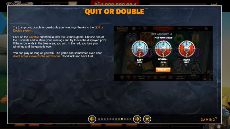 Faelorn Wild Heroes :: Quit or Double