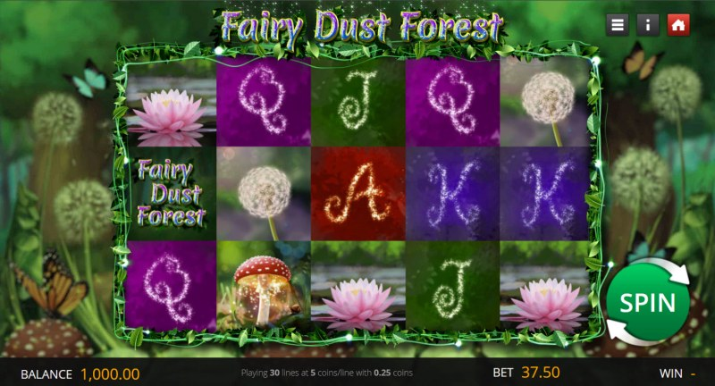Fairy Dust Forest :: Main Game Board