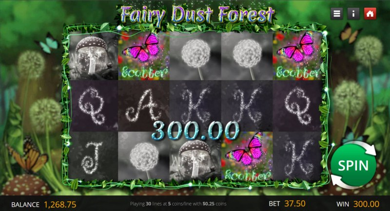 Fairy Dust Forest :: Scatter Win