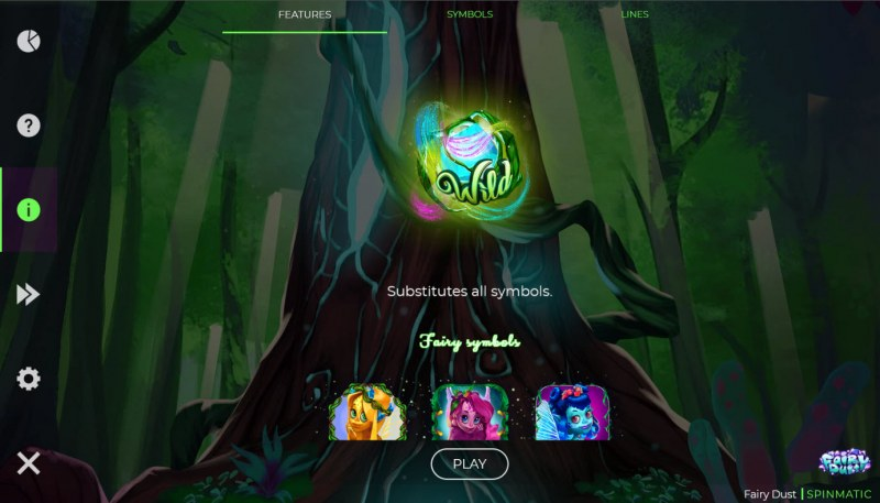 Fairy Dust :: Wild Symbol Rules