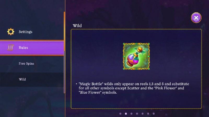 Fairy Fantasies :: Wild Symbols Rules