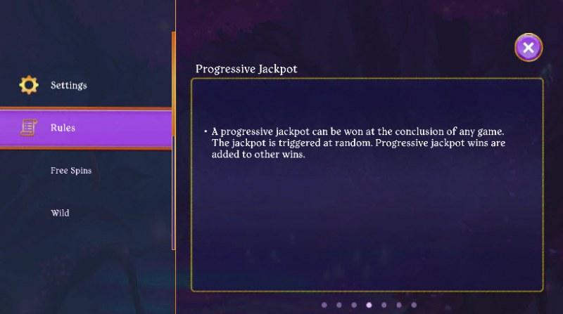 Fairy Fantasies :: Jackpot Rules