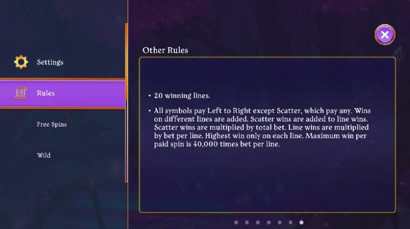 Fairy Fantasies :: General Game Rules