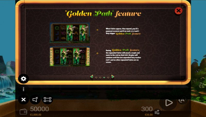 Fairy's Golden Path :: Feature Rules