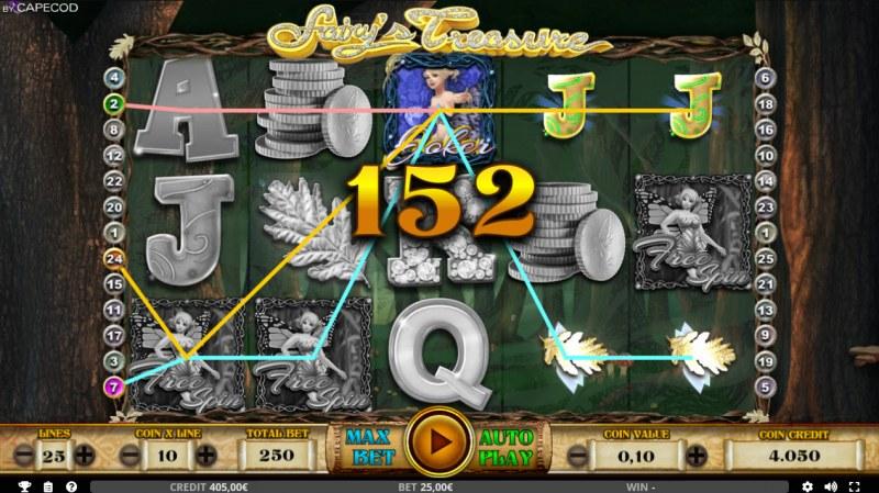 Fairy's Treasure :: Multiple winning paylines