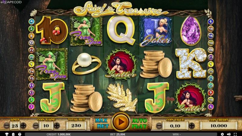 Fairy's Treasure :: Main Game Board