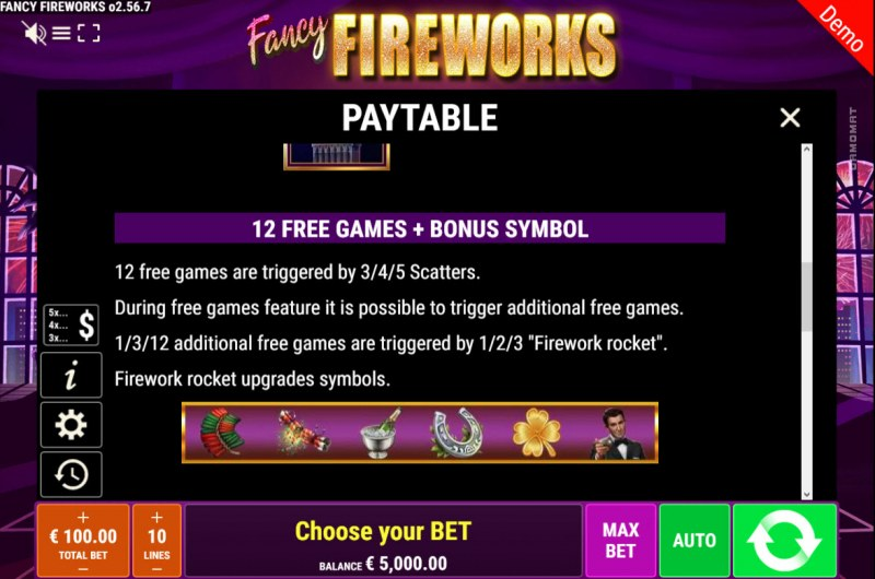 Fancy Fireworks :: Free Game Rules