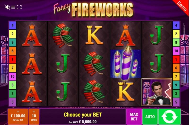 Fancy Fireworks :: Main Game Board