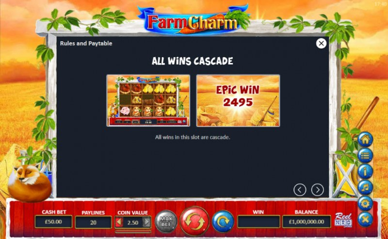 Farm Charm :: All Wins Cascade