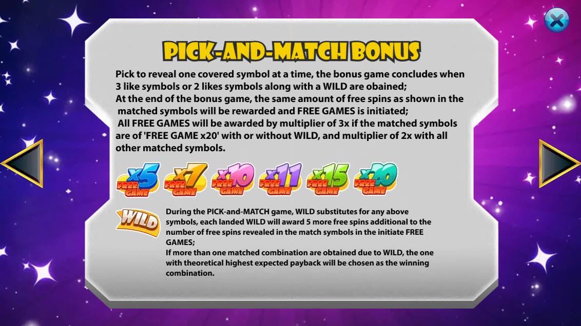 Fast Blast :: Bonus Game Rules