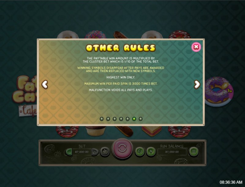 Fat Cat Cafe :: General Game Rules