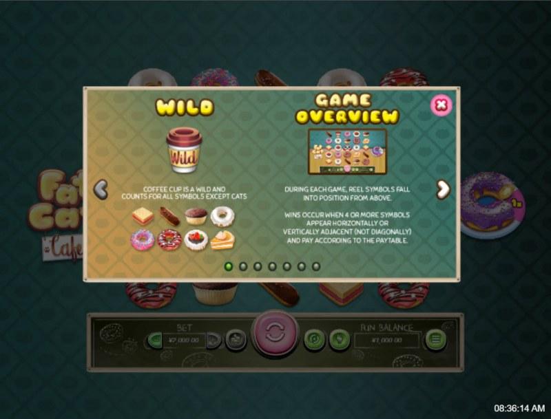 Fat Cat Cafe :: Wild Symbol Rules