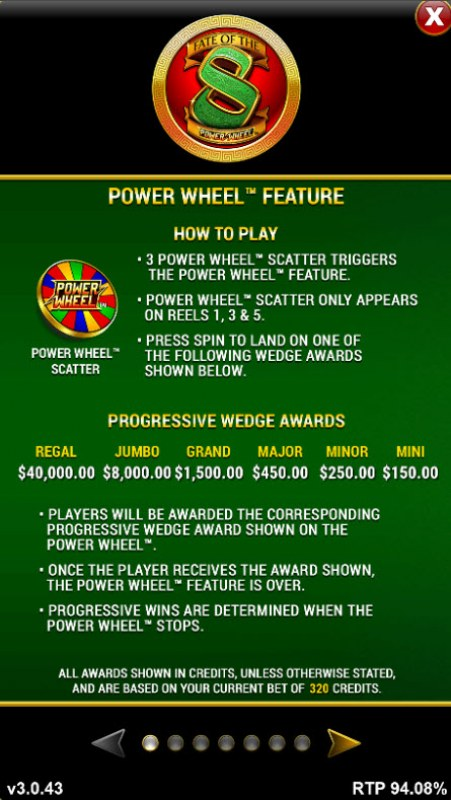 Fate of the 8 Power Wheel :: Power Wheel Feature