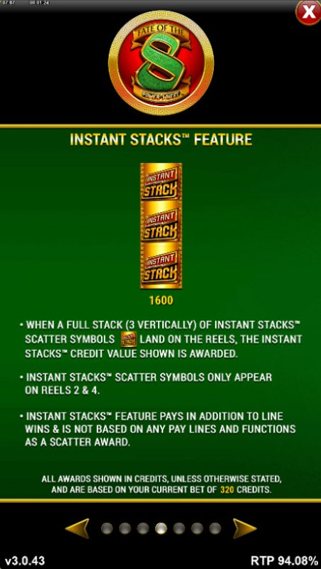 Fate of the 8 Power Wheel :: Instant Stacks