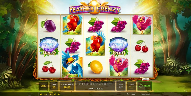 Feather Frenzy :: Main Game Board